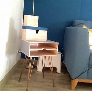 Bout De Canapé Ikea : petit meuble bout de canap au look vintage ~ Teatrodelosmanantiales.com Idées de Décoration