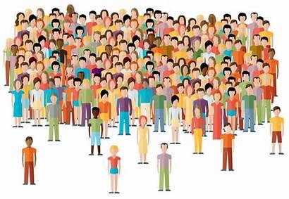 Population Clipart Crowd Citizen Frisco Menschenmenge Illustration
