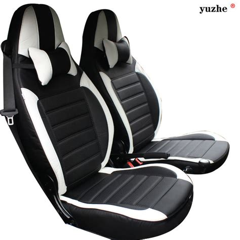 siege twingo 1 yuzhe leather car seat cover for mercedes smart