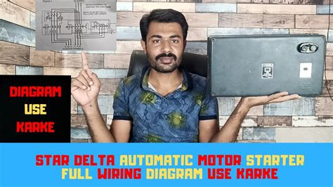 Sep 13, 2015 · automatic star delta starter using relays and adjustable electronic timer for induction motor automatic speed regulation depending on incoming vehicle on high ways (fuel injection) automatic solar tracker Automatic Star Delta Motor Starter Full Wiring L&T MK1 Type - YouTube