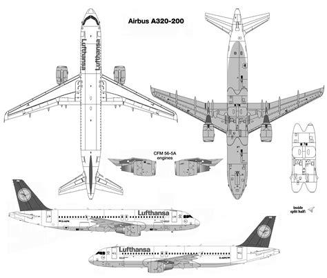 plan des sieges airbus a320 airbus a320 200 blueprint free blueprint for 3d