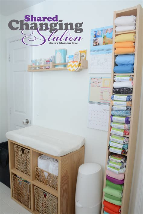 this home ours shared changing station cherry