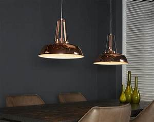 Suspension Luminaire Cuivre : luminaire suspension moderne en mtal couleur cuivre saucer ~ Teatrodelosmanantiales.com Idées de Décoration