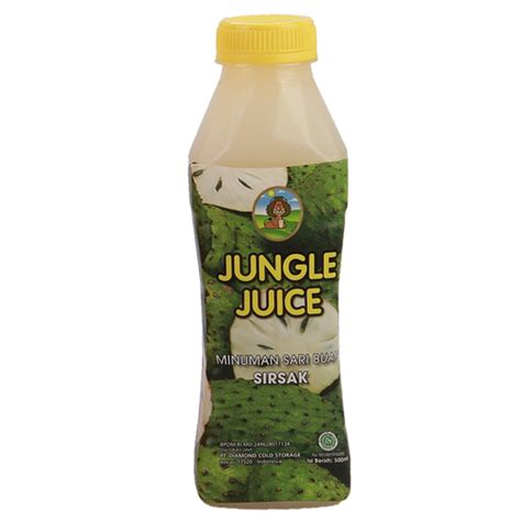 jungle juice soursop 500 ml jungle juice soursop 500 ml sukanda djaya