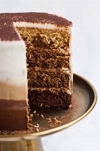 Tiramisu Layer Cake with Ombre Mascarpone Frosting Eat ...