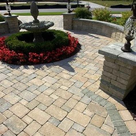 Unilock Brussels Pavers by Brussels Block Pavers Pavers Retaining Walls