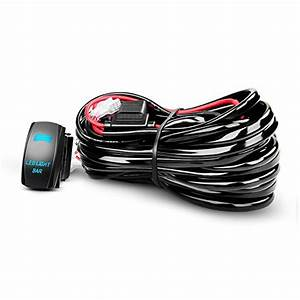 Nilight Led Light Bar Wiring Harness Kit 12awg Heavy Duty