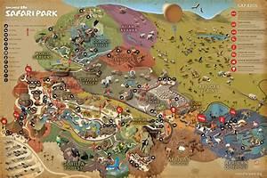 san diego zoo safari park map