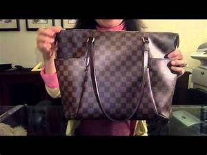 Louis Vuitton Totally MM Damier Ebene Reveal and Review ...