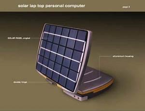 Un Ordinateur Portable Solaire Entirement Autonome