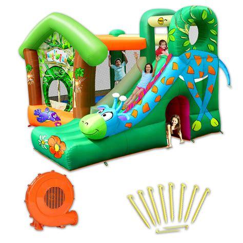structures gonflables pas cher structure gonflable happy hop jungle pas cher en vente sur stock nautigames