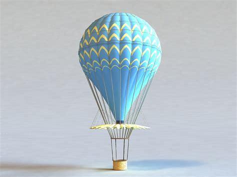 hot air balloon  model ds maxgoogle sketchupautodesk