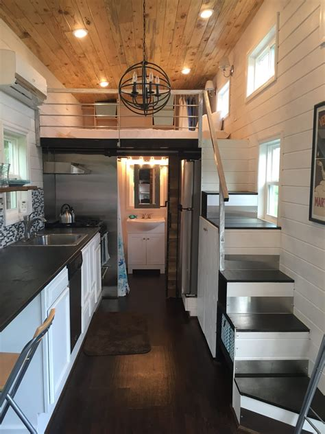Tiny House Town Luxurious Tiny House In Tennessee (280 Sq Ft