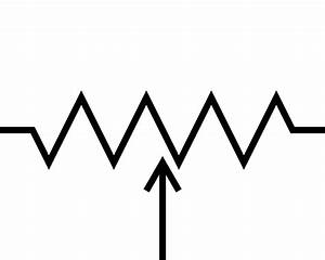 File Potentiometer Symbol Svg