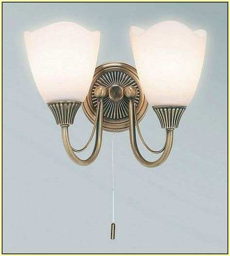 antique brass wall lights with pull cord home design ideas