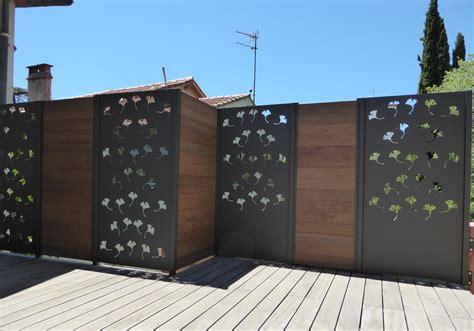 une marquise en cuisine brise vue design brise vent balcon closdestreilles