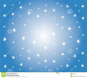 White Stars On Blue Background Stock Photo - Image: 3167710