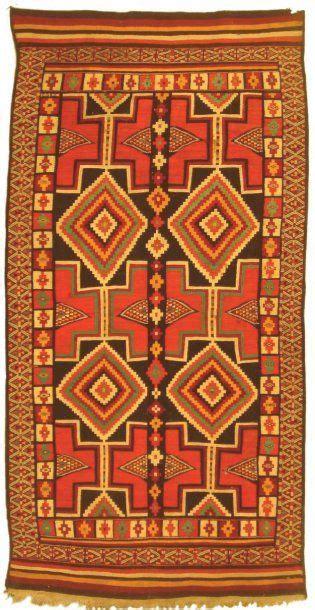 teppich afrikanisches design tissage dit tissage ras de khenchela en tissage de sol en tissage plat dit aussi