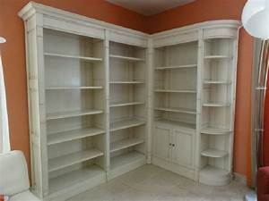 Bibliothèque D Angle Ikea : biblioth que d 39 angle style directoire meubles saint ~ Melissatoandfro.com Idées de Décoration