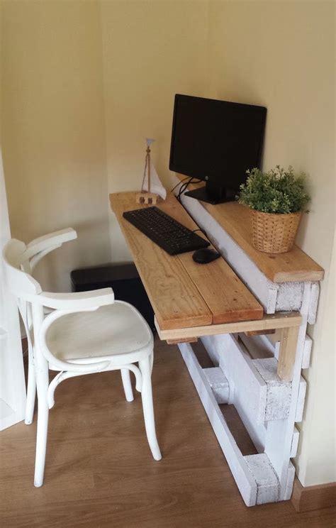 fabriquer un bureau avec des palettes fabriquer meuble avec palette dootdadoo com idées de