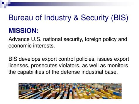 bureau of industry and security bis ppt counterfeit products in the supply chain part 1 breakout session 11 40 am 12 40 pm