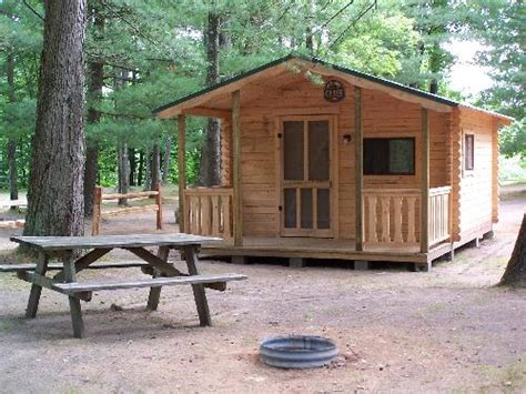 cgrounds with cabins cing at cool water cground on the pine river