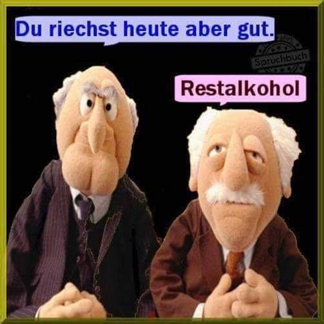 alkohol bier lustig witzig spr 252 che bild bilder muppets