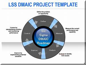 dmaic tools powerpoint template With dmaic template ppt