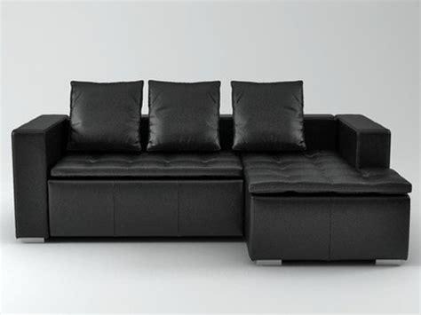 chaise menzzo mezzo sofa 3d model boconcept