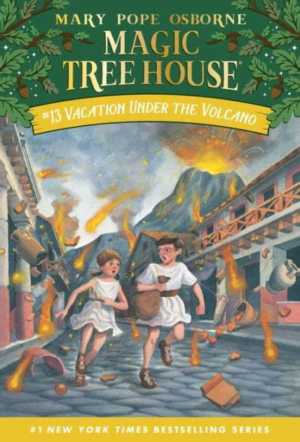 vacation   volcano magic tree house series