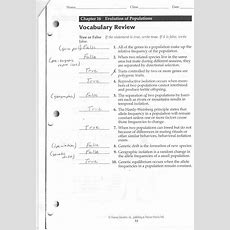 Pearson Education Biology Worksheet Answers The Best Worksheets Image Collection  Download And