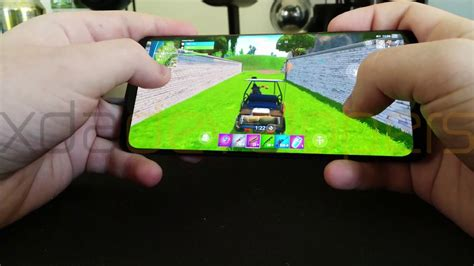 exclusive fortnite mobile  android leaked gameplay