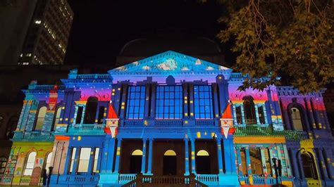 christmas light show projector kokodonat sydney christmas light projection show 2013
