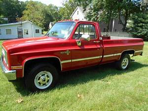 1987 Chevy K20 4x4 Pickup 2500 34 For Sale  Photos