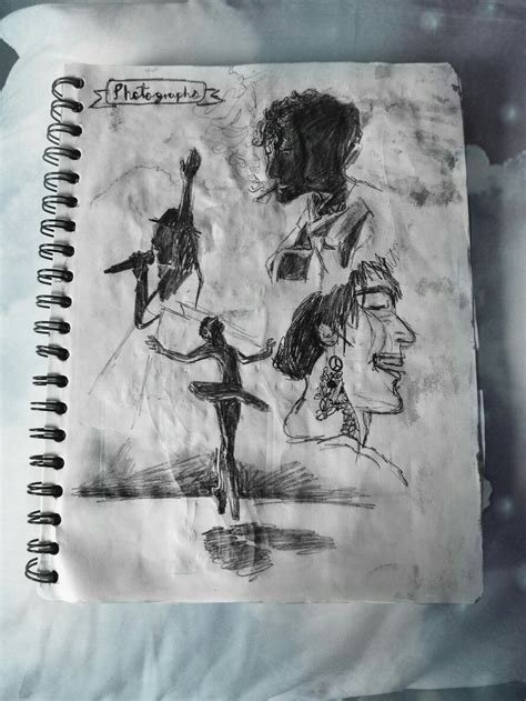 sketchbook white aesthetic drawings pencil emotionsball