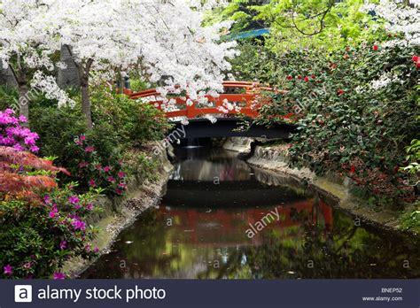 Japanischer Garten Los Angeles by Japanische Garten Br 252 Cke Im Fr 252 Hjahr Descanso G 228 Rten
