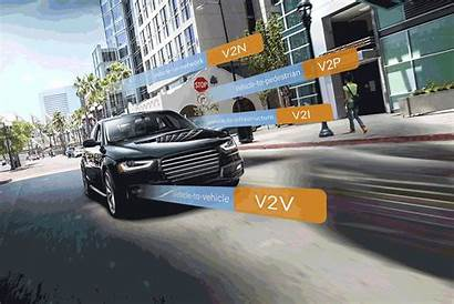 V2x Connected Vehicles Qualcomm Driving Cellular 5g