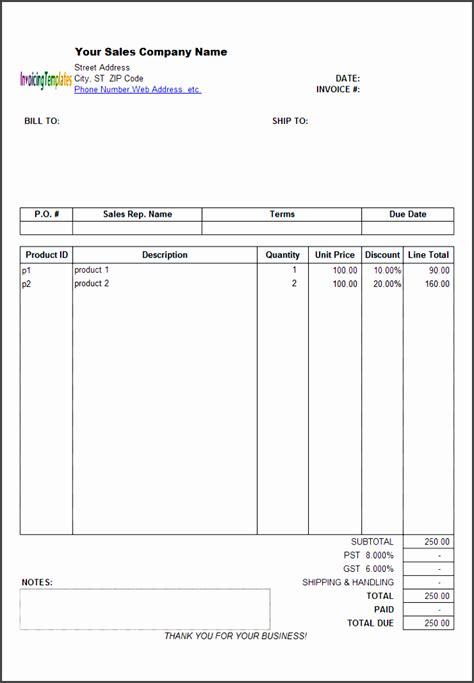 blank invoice template  sales sampletemplatess