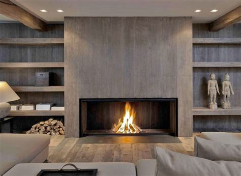 Modern Living Room With Fireplace Ideas by Metalfire Fireplace With A Modern Wood Look Kitchen