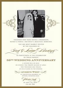50th wedding anniversary invitation wording theruntimecom for Print your own 50th wedding anniversary invitations