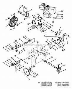 Ariens 932001 Parts List And Diagram