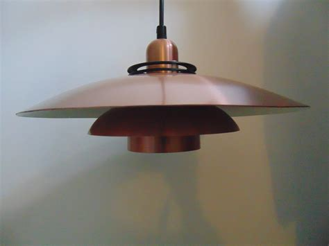 vintage pendant light in copper kingdom furnishings