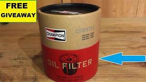 Champion Oil Filter Review