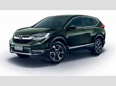 2017 Honda CRV launched in Thailand, prices start at a