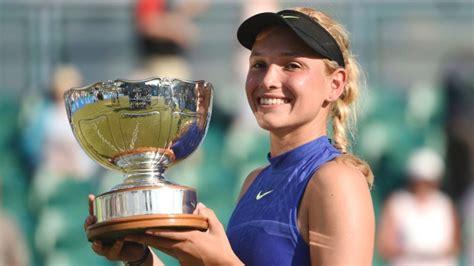 Vekic Beats Konta To Win Wimbledon Warmup In Nottingham  Article Tsn