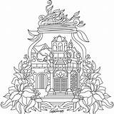 Coloring Gorget Stitch Adult Template sketch template