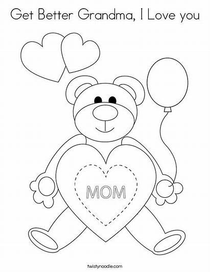 Coloring Grandma Better Mother Happy Mothers Ll
