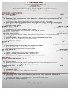 best resumes historical figures more in 2014 cv template