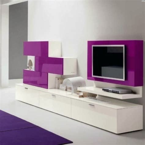 high gloss muro modern media cabinet will give a vibrant