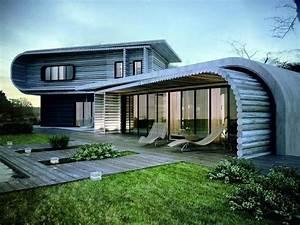 Wie ein Hobbit leben: Ökohaus Bauen - Architektur - ZENIDEEN